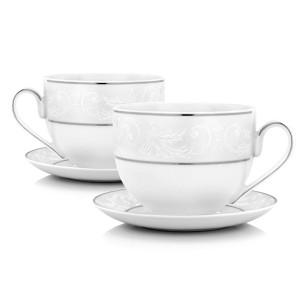 filiżanki do kawy porcelanowe na prezent dla nowożeńców