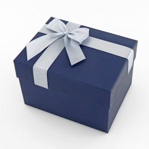 pudełko prezentowe granatowe