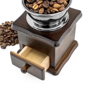 młynek do kawy ręczny na fajny prezent dla teścia