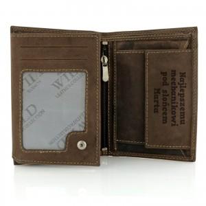 portfel męski skórzany z grawerem na prezent dla mechanika samochodowego najlepszemu mechanikowi