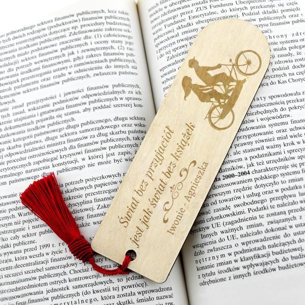 pomysł na prezent dla przyjaciółki zakładka do książki świat