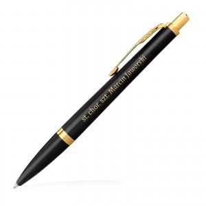 długopis parker z grawerem na prezent dla wojskowego emeryta Parker IM GT