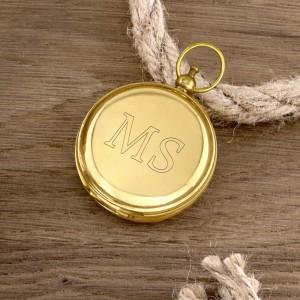 kompas z grawerem na prezent dla wojskowego