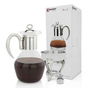 dzbanek do herbaty z podgrzewaczem na upominek dla teściowej