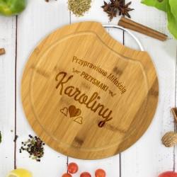 deska kuchenna z grawerem na wyjątkowy prezent