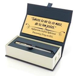 pomysłowy prezent dla szefa długopis parker z grawerem
