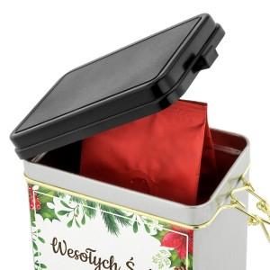 pomysłowy prezent na święta kawa w puszce z nadrukiem