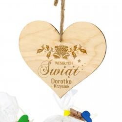 zawieszka z personalizacją dołączaną do zestawu świątecznego - Smak Lata na upominek dla niej