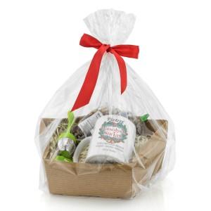 zestaw do herbaty - Dzwonki na upominek na święta dla niego w opakowaniu prezentowym