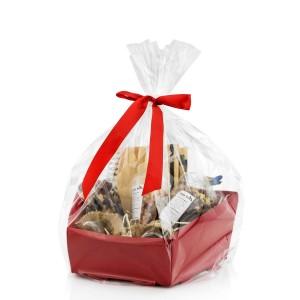 na prezent dla niego zestaw upominkowy na święta  - Marzeń Czas w opakowaniu prezentowym z celofanu