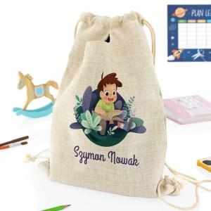 pomysł na prezent dla przedszkolaka personalizowany plecak do przedszkola