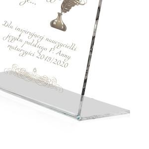 statuetka dla nauczyciela - Zwierciadło Duszy
