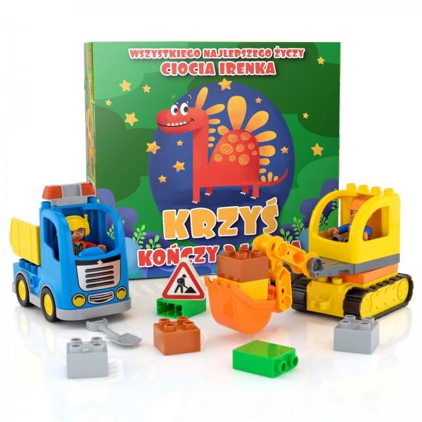 na prezent urodzinowy klocki lego na prezent dla dziecka - Na Budowie