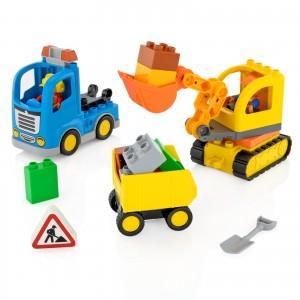 Klocki lego na prezent dla dziecka - Na Budowie na prezent z okazji urodzin