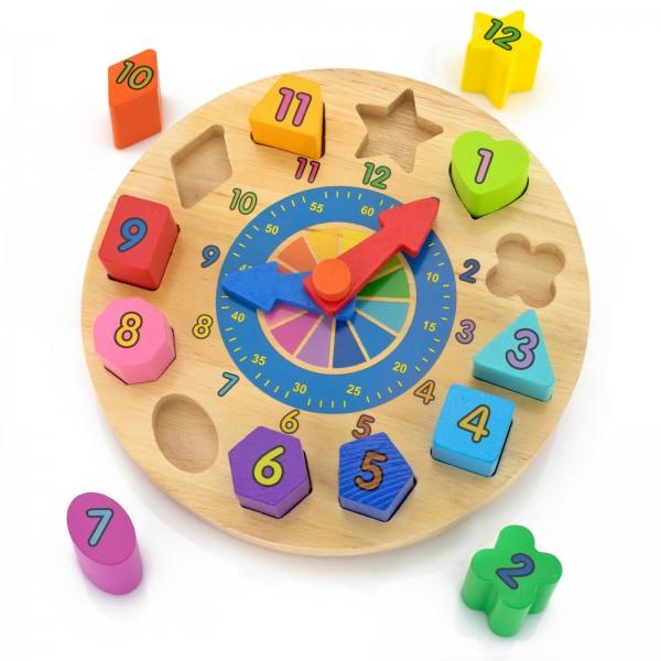 na prezent urodzinowy dla chłopczyka klocki puzzle z nadrukiem dla chłopczyka - Zegarmistrz