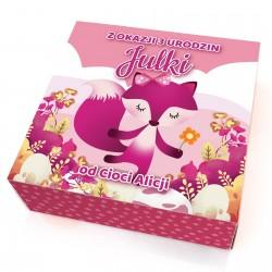 klocki puzzle z nadrukiem dla dziewczynki - Godzinka  na prezent na urodziny dziecka