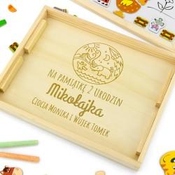 tablica edukacyjna dla dzieci - Farma na prezent urodzinowy