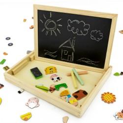 tablica edukacyjna dla dzieci - Farma na upominek na urodziny