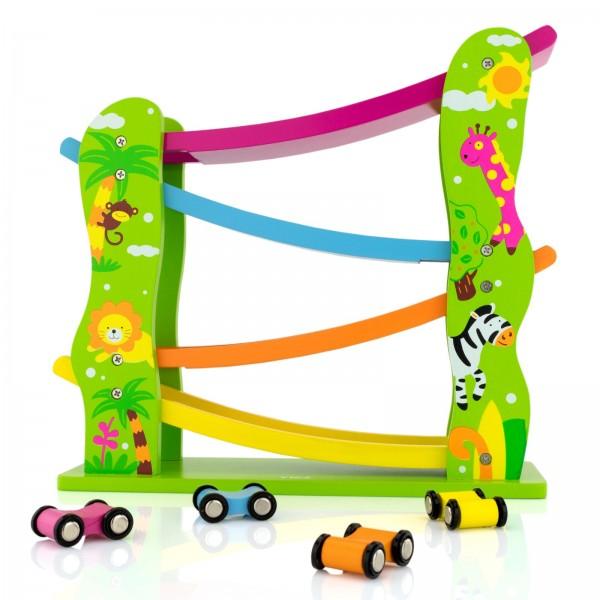 na prezent urodzinowy dla dziecka zjeżdżalnia samochodowa dla dzieci - Formuła I