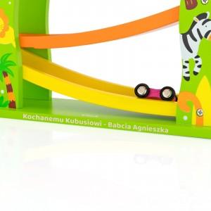 zjeżdżalnia samochodowa dla dzieci - Formuła I na upominek na urodziny