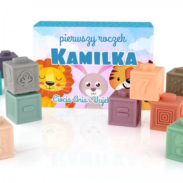 na prezent dla dziecka na urodziny klocki sensoryczne dla dzieci - Sensorki