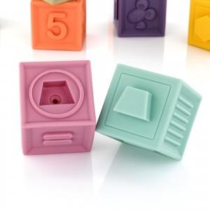 klocki sensoryczne dla dzieci - Sensorki na prezent na roczek