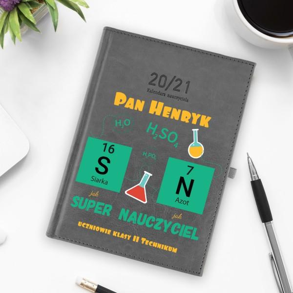 kalendarz nauczycielski na nowy  rok szkolny