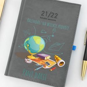 kalendarz dla nauczyciela z nadrukiem