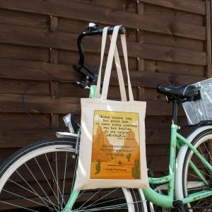 torba bawełniana dla geografa - Świat Dysku na prezent dla nauczyciela geografii