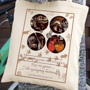 prezent na zakończenie roku torba bawełniana dla historyka - Skarbiec