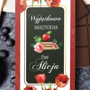 czekolada w obwolucie - Wyjątkowa na prezent na dzień nauczyciela