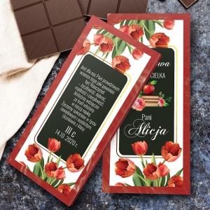 na prezent dla nauczyciela czekolada w obwolucie - Wyjątkowa