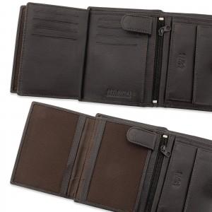 wnętrze portfela męskiego z grawerem - Skok Na Kasę na prezent dla niego