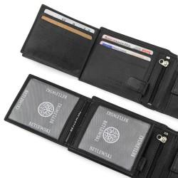 portfel męski z grawerem - Amore Mio na prezent dla niego