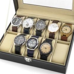 na prezent dla narzeczonego szkatułka etui na zegarki - Biały Kruk