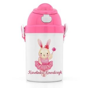 na prezent mikołajkowy dla dziewczynki zestaw prezentowy dla dziecka pudełko śniadaniowe i bidon