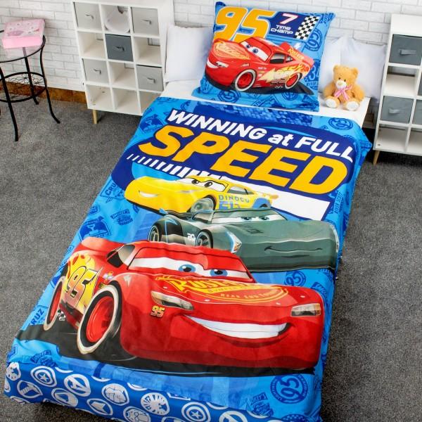 na prezent na urodziny chłopca komplet pościeli dziecięcej - Super Car