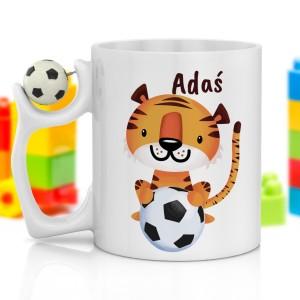 na prezent dla chłopczyka kubek z nadrukiem - Tiger