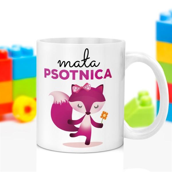 kubek z nadrukiem grafiki na prezent na dzień dziecka dla dziewczynki