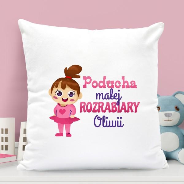 na prezent dla dziecka poduszka dla dziewczynki - Sama w Domu