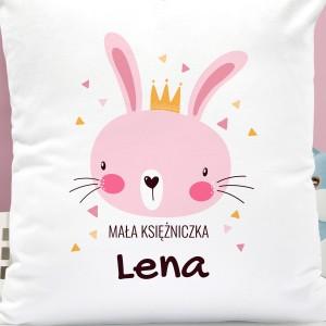 poduszka z dedykacja imienia - Princessa na prezent dla dziecka