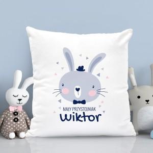 personalizowana poduszka dla chłopczyka - Melonik i Mucha na prezent na mikołajki