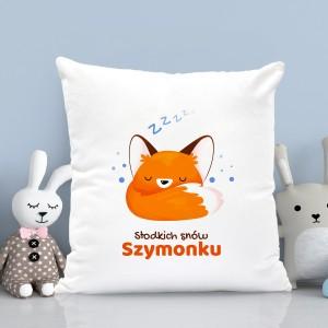 poduszka dla chłopczyka - Słodkich Snów na prezent na roczek