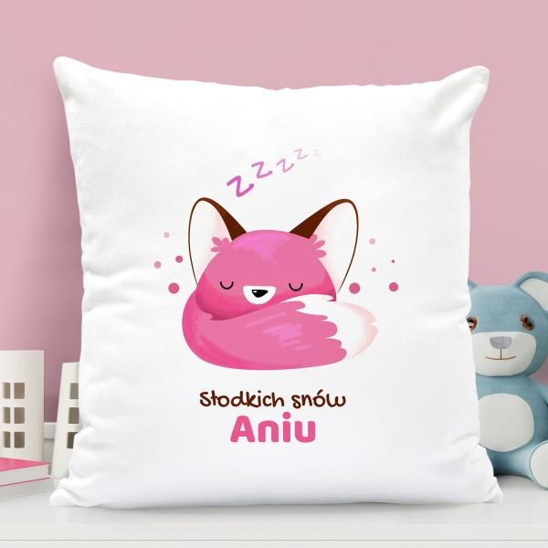 na prezent dla dziecka poduszka dla dziewczynki - Kołysanka