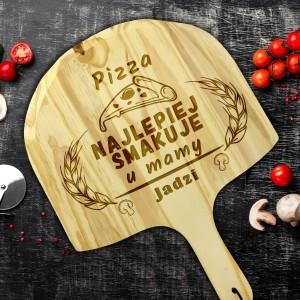 od kompletu z kamienieniem do pizzy deska z grawerem dedykacji na prezent z okazji dnia mamy