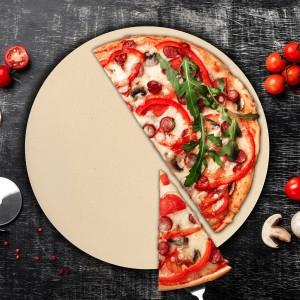 personalizowany kamień do pizzy z deską na prezent na urodziny dla szwagierki