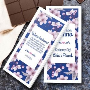czekolada z dedykacją na dzień babci