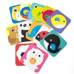 puzzle czuczu zwierzątka duże puzzle dla 2 letnich dzieci