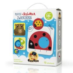 czczu puzzle na prezent dla dziecka