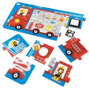 puzzle czuczu wóz strażacki